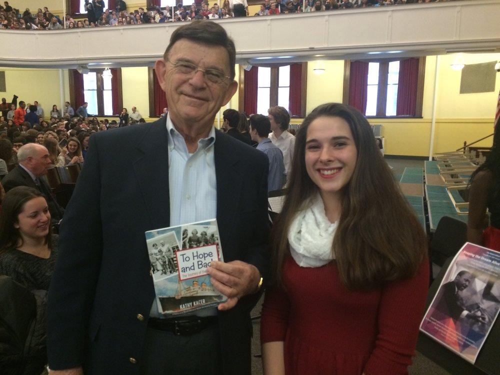 Sol and Maura Graham - City Honors Student organizer.jpg