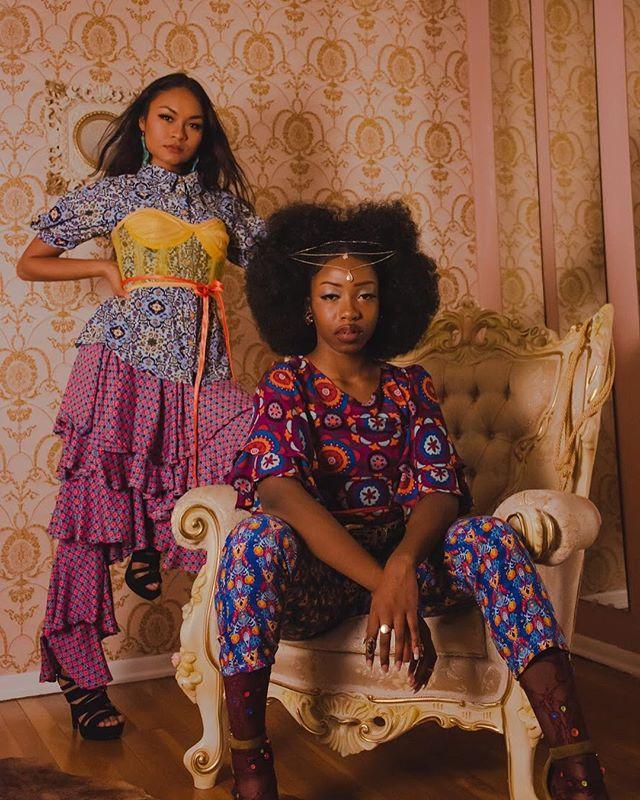 L A V I S H —————— S/S 19 The Renewal Ready to wear Photographer: @bettyelrodphotography  Studio: @thepsychedelicshak  Models: @manuelaenama @pinacallata_