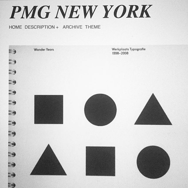 Case study #typography #pmgnewyork #graphicdesign #cleandesign