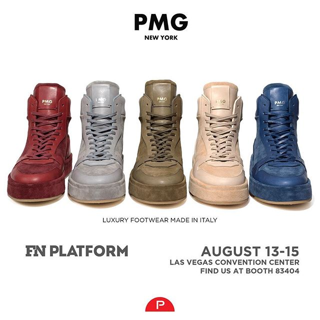 New Styles Unveiled. Las Vegas. August 13-15. Hope To See You There. #fnplatform #showusyoursole #luxuryfootwear #pmgnewyork #complexkicks #luxurylifestyle #luxurysneakers #sneakers #kotd #sneakernews