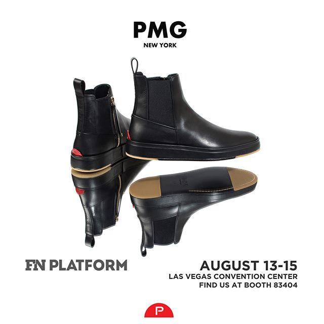 The Chelsea Lux. Premium Italian leather with wrapped outsole and luxury dress shoe bottom construction.  Swipe left for details or see them in person at Booth 83404 at the Las Vegas Convention Center if you're visiting @fnplatform, @projectshow, @wwdmagic. #showusyoursole #fnplatform #pmgnewyork #footweardesign #mensfootwesr #italianmade #luxurylifestyle #ultraluxury
