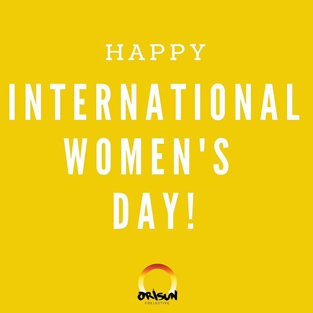 Orísun Collective, an organization run entirely by women, is sending love to all the #phenomenalwomen out there who are following their dreams, kicking butt, and making a difference in this world. We honor you 💕