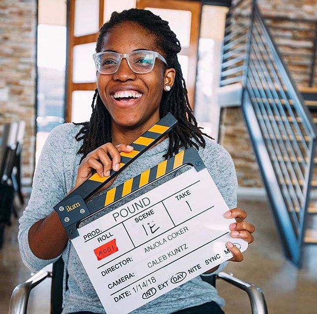 Big shoutout to one of our very own, our Director of Finance @anjolacoker ...not only does she help run our summer camp, she's a poet, AND a filmmaker! Check out more info on her 2nd short film that she wrote & directed,  @poundfilm ...CONGRATS Anjola! 🤗🌟🎬