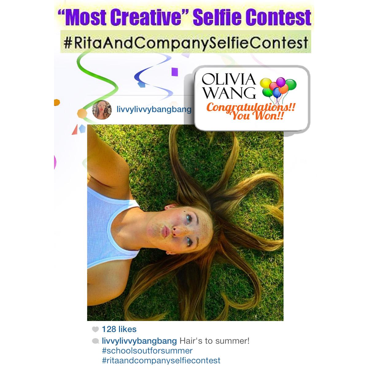 Selfie winner