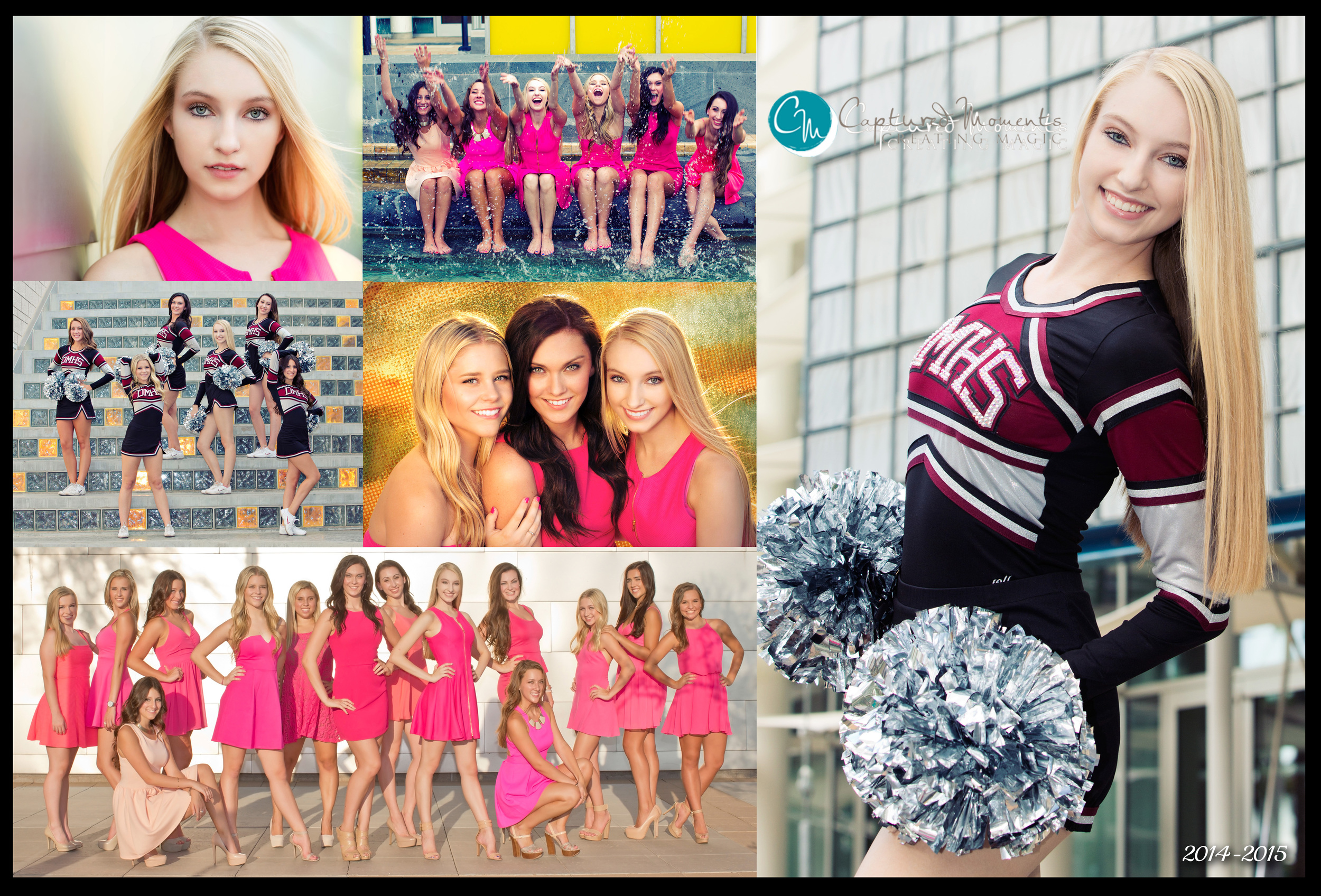 Harrison pom collage