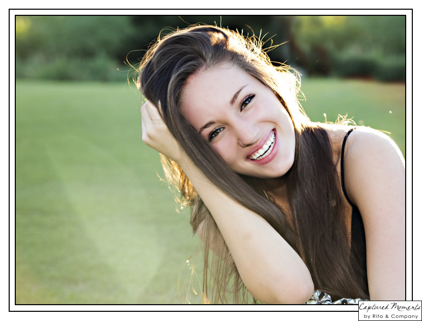 Captured Moments by Rita and Company senior portraits Scottsdale