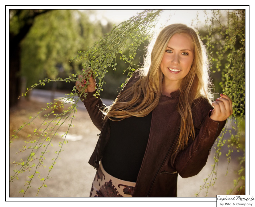 Captured Moments by Rita & Company high school senior portraits