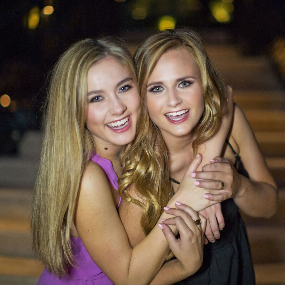 Flashback to when we first met Mia her junior year at our shoot with Demi Varty. These girls are ridiculously adorable together!