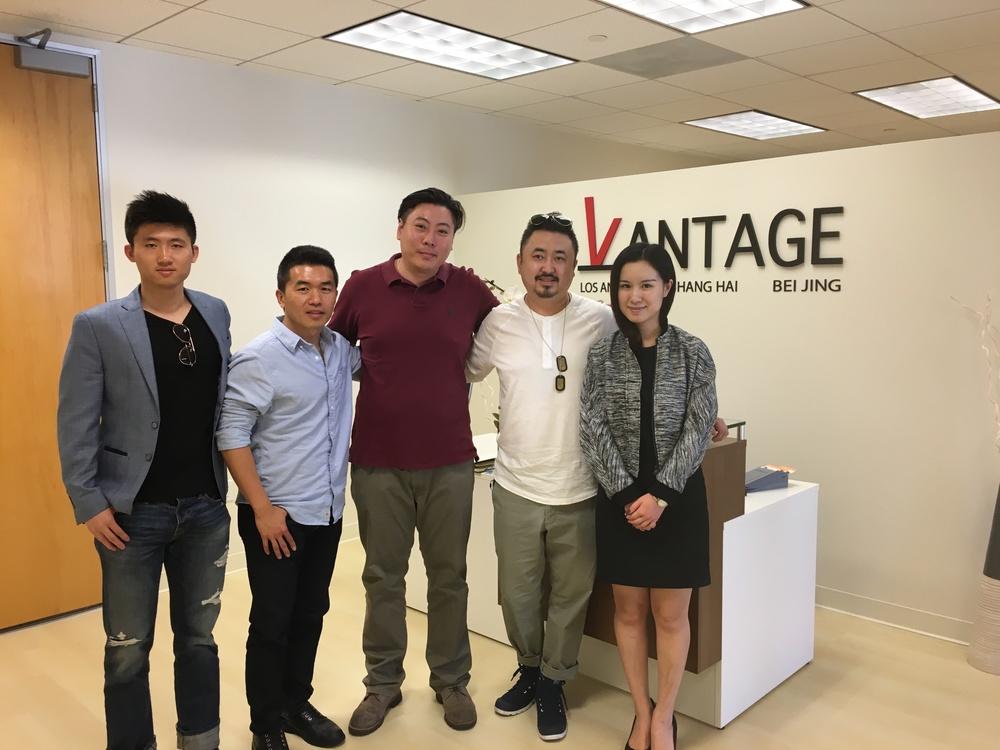 影网团队到访Vantage洛杉矶总部
