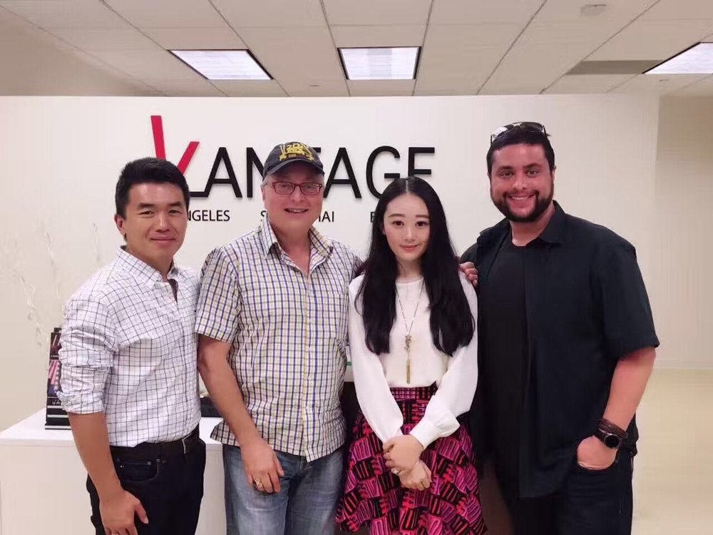 Uslan父子到访Vantage洛杉矶总部