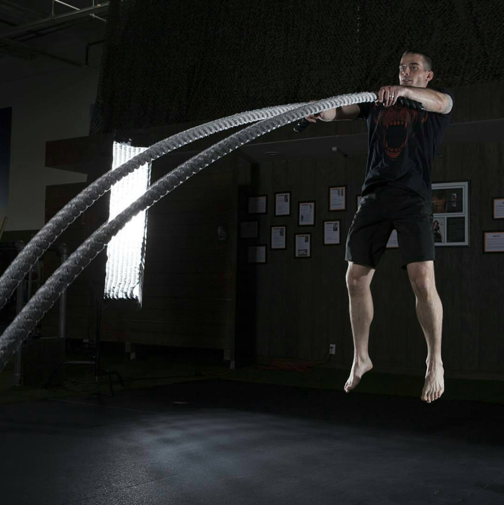How To Add Battle Ropes To Your Workouts for Maximum Impact - by Aaron Guyett