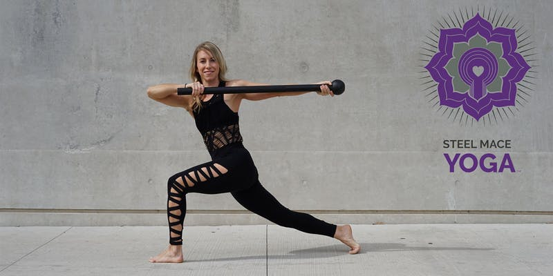 Steel Mace Yoga (Level 1)  - Sat, June 9, 2018Bella StrengthBoulder, CO 80301