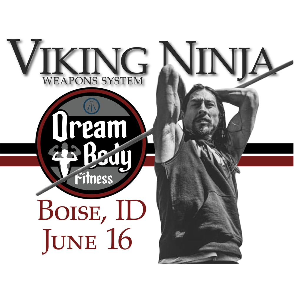 Viking Ninja Weapons System - Sat, June 16, 2018Dream Body FitnessMeridian, ID 83642