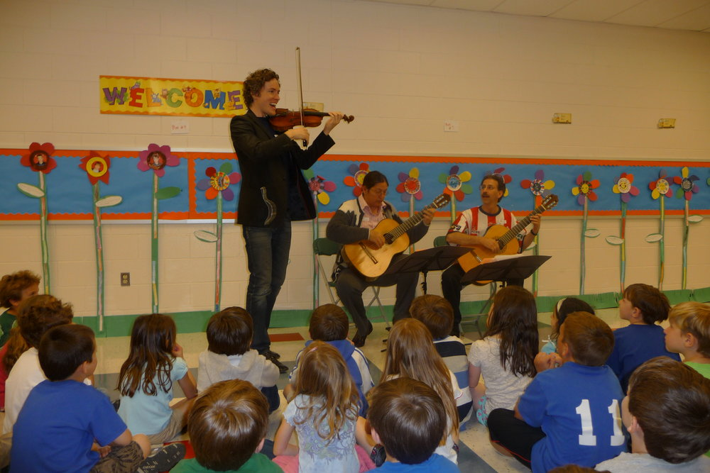 Tim fain with Newman & Oltman at Tewksbury Elementary photo Michelle Regan.JPG