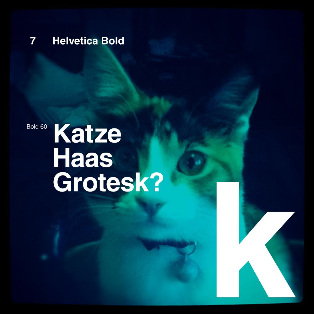Katze Haas Grotesk