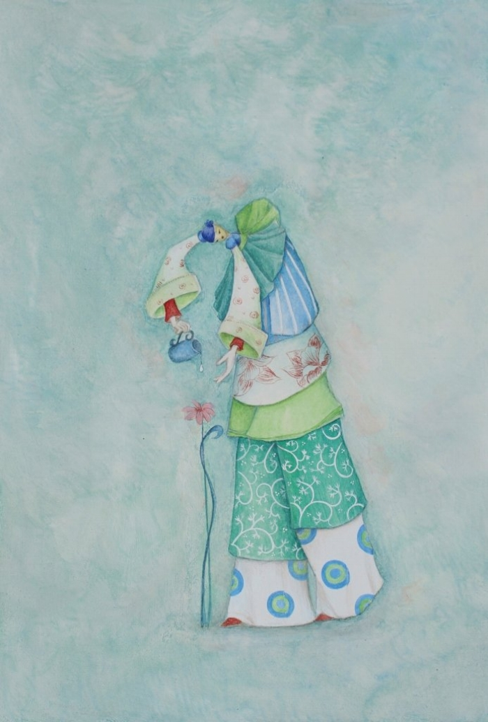 The Gardener... available on Helene's website