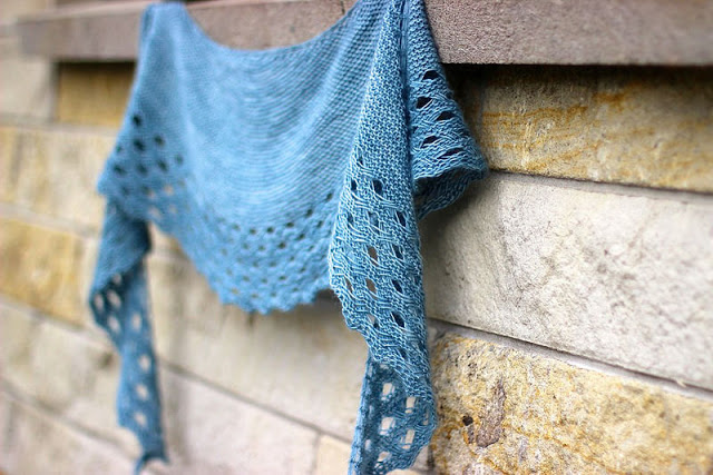 How To Block A Crescent Shawl Truly Myrtle