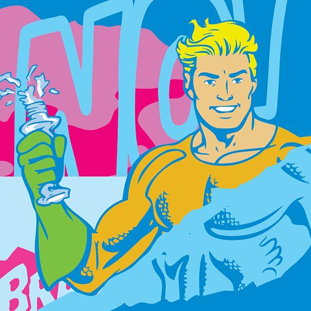 Aqua Man/Plastic Bottle by Jake Beeson \\ http://jakebeeson.com/