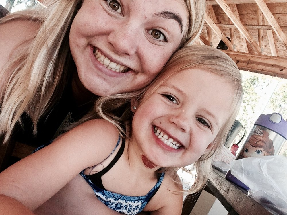 This is Allie and the little one she nannies, Ellie. They rock, I mean just look at those smiles.