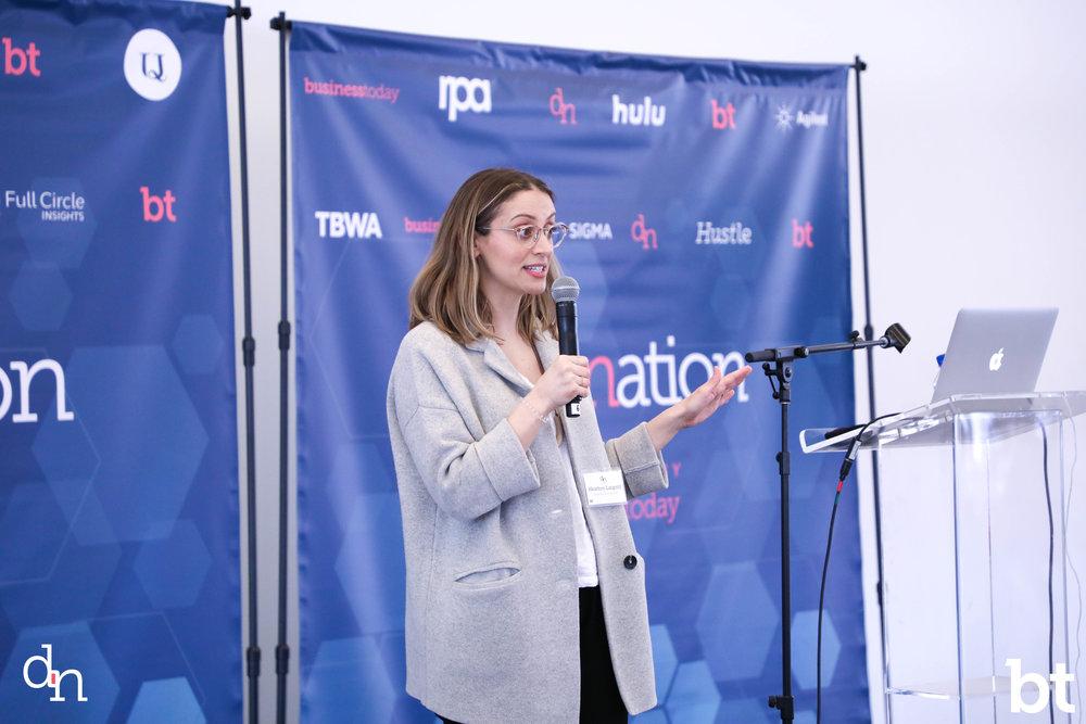Heather Luipold , Creative Lead @ Google Creative Lab PC:  Princeton Designation  &  Business Today