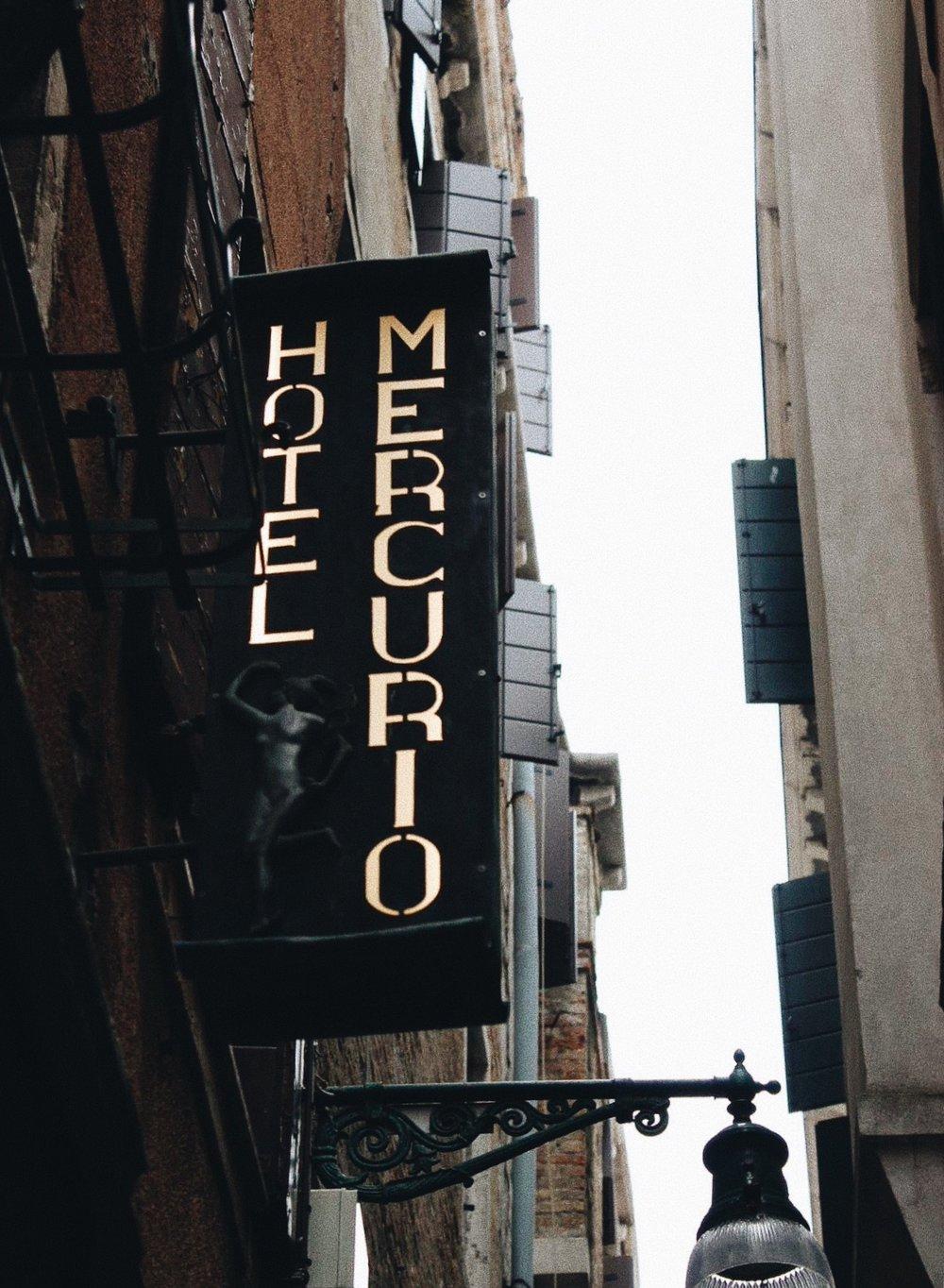 Venice Italy Hotel Mercurio