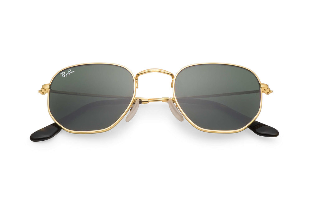 Ray-Ban: Hexagonal Flat Lenses