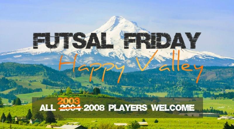 OYFA Futsal Friday Portland Oregon