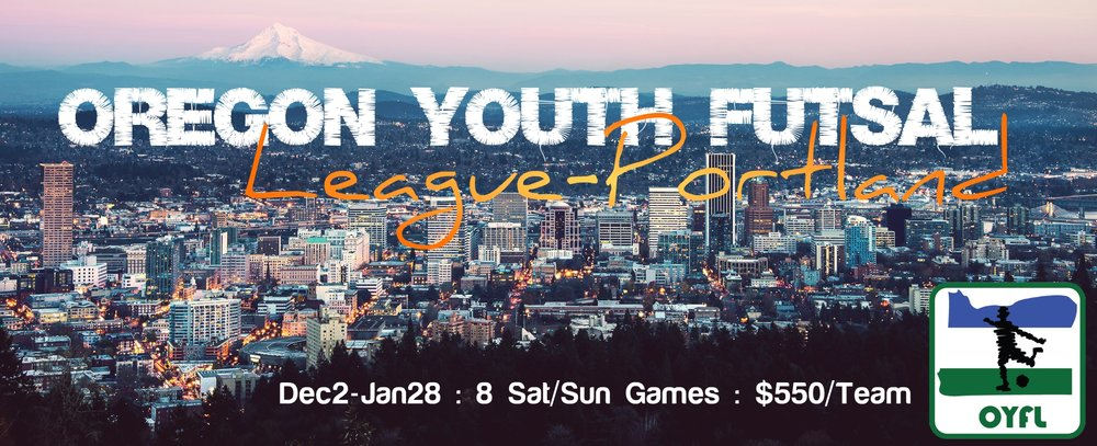 Oregon Youth Futsal League Portland OYFL Winter
