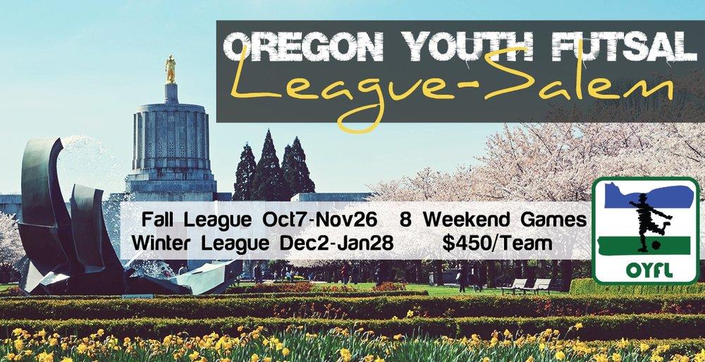 Salem Oregon Youth Futsal League OYFL Portland