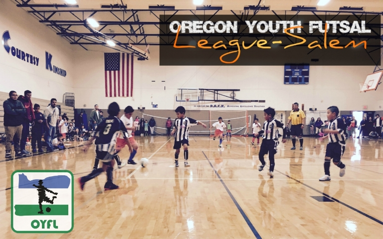 Salem Oregon Futsal Youth Futsal OYFL League Houck Middle School