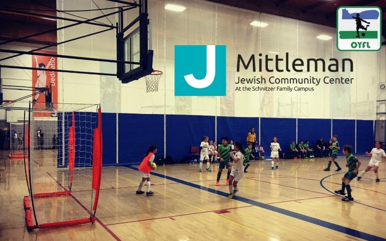 MJCC Oregon Youth Futsal League OYFL Portland Youth Mittleman Jewish
