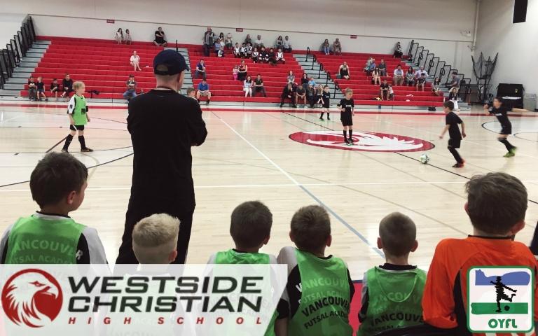 OYFL Oregon Youth Futsal League Portland Tigard Westside Christian High School WCHS