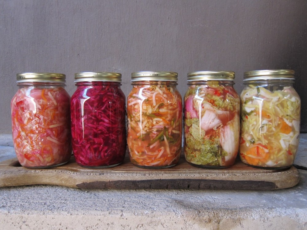 Fermented foods increase the 'good' bacteria in our gut that support our digestive system and strengthen our immune system.