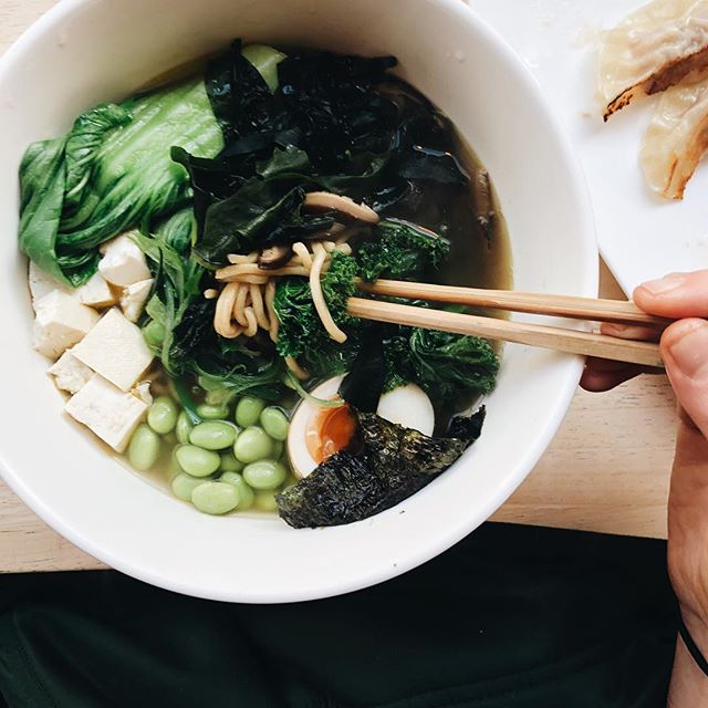 Eating ramen @eetramen. Well what do you know. - - - - - #lifeandthyme #healthyfoodideas #foodieflatlays #foodblogfeed #wholefoods #eatwhole #simplefood #beautifulcuisines  #thatsdarling #mycommontable #gloobyfood #eeeeats #thekitchn #f52grams #spoonfeed #thatsdarlingweekend #bestofvegan #vscofood #pgminseason #heresmyfood #feedfeed #naturalfood #wholesome #plantbased #healthybreakfasts #lunchplace #gantoise