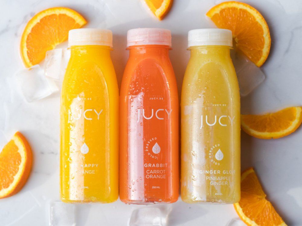 Jucy - Cold pressed juices - Food styling &photography