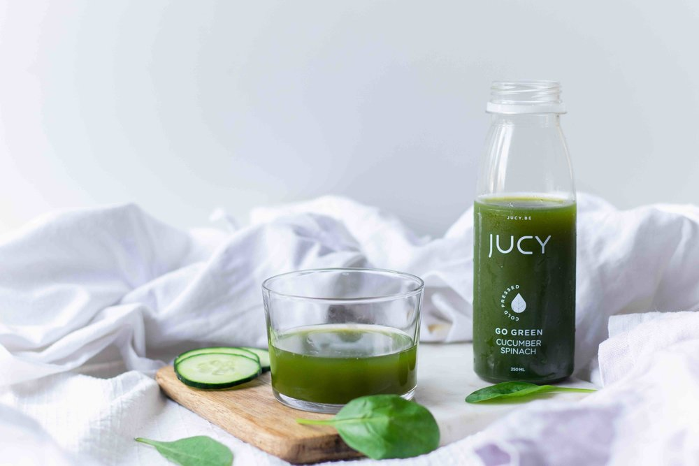 jucy cold pressed juices food styling & photography