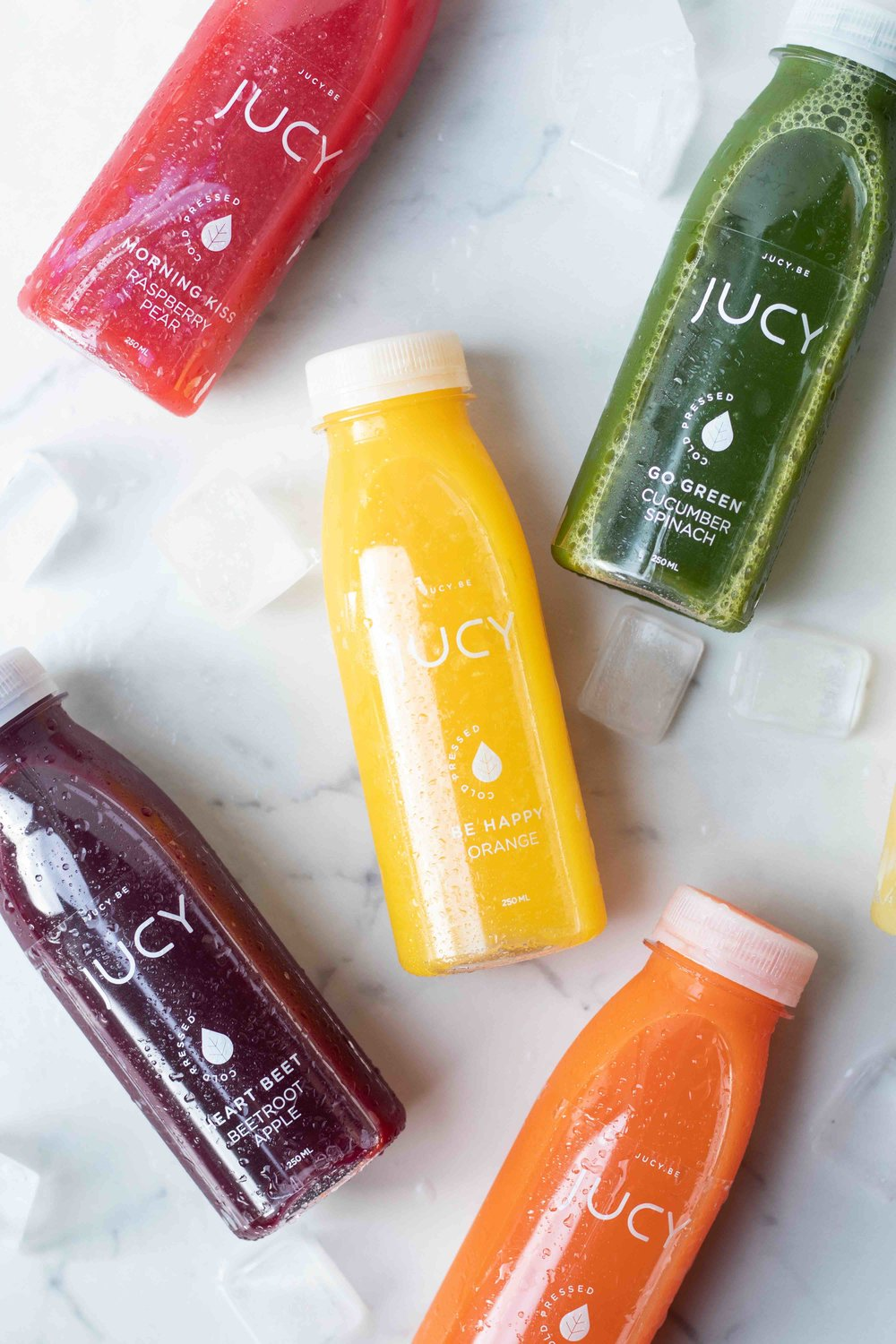 jucy cold pressed juices food styling & food photography