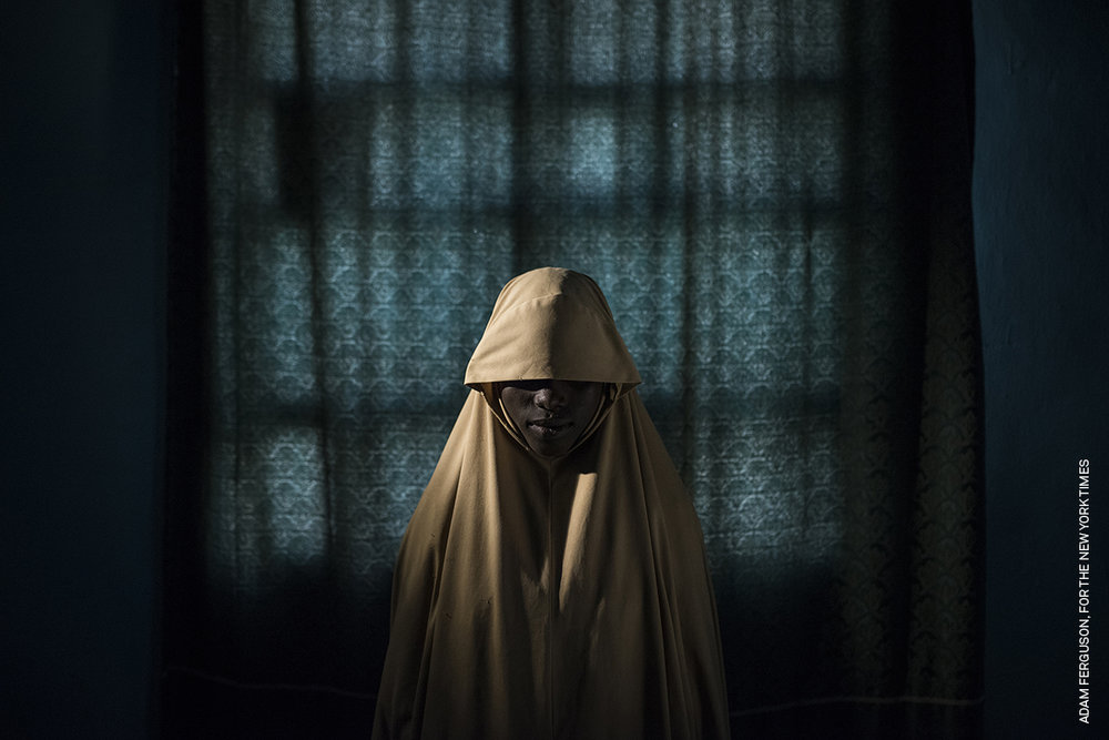 Copy of Boko Haram Strapped Suicide Bombs to Them. Somehow These Teenage Girls Survived. - Aisha, age 14.