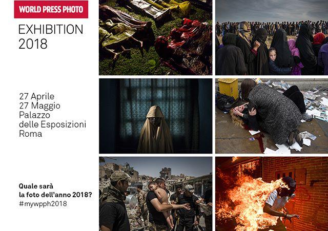 """Partecipa anche tu al #contest #mywpph2018 e vinci un biglietto #omaggio per la #mostra #WorldPressPhoto2018 al Palazzo delle Esposizioni di #Roma!  Ecco come fare: • Segui i prossimi post della pagina in cui racconteremo le sei #foto selezionate per la foto dell'anno 2018 • Condividi su facebook con l'hashtag #mywpph2018 la tua foto dell'anno tra le sei selezionate • Attendi con noi l'annuncio del vincitore la sera del 12 aprile 2018 • Se hai indovinato la #fotodell'anno 2018 manda un messaggio privato alla pagina facebook @WorldPressPhotoRoma con lo screenshot della tua condivisione • I primi 10 riceveranno un ingresso omaggio alla mostra #WPPh18 a Roma* *#WpphRoma si impegnerà a scrivere ai #vincitori che avranno diritto ad un ingresso omaggio al #PalazzoDelleEsposizioni per visitare la mostra @WorldPressPhoto 2018 e le altre #mostre in corso (""""Human +. Il futuro della nostra specie"""" e """"Cesare Tacchi. Una retrospettiva""""). Sarà sufficiente presentarsi in biglietteria e dare il proprio nominativo.  #contest #photocontest #freentry @palaexpo #exhibitions #worldpressphotofoundation #picoftheyear #professionalphotography #followus #staytuned #photo #photos #photography #stories #six #nominees"""