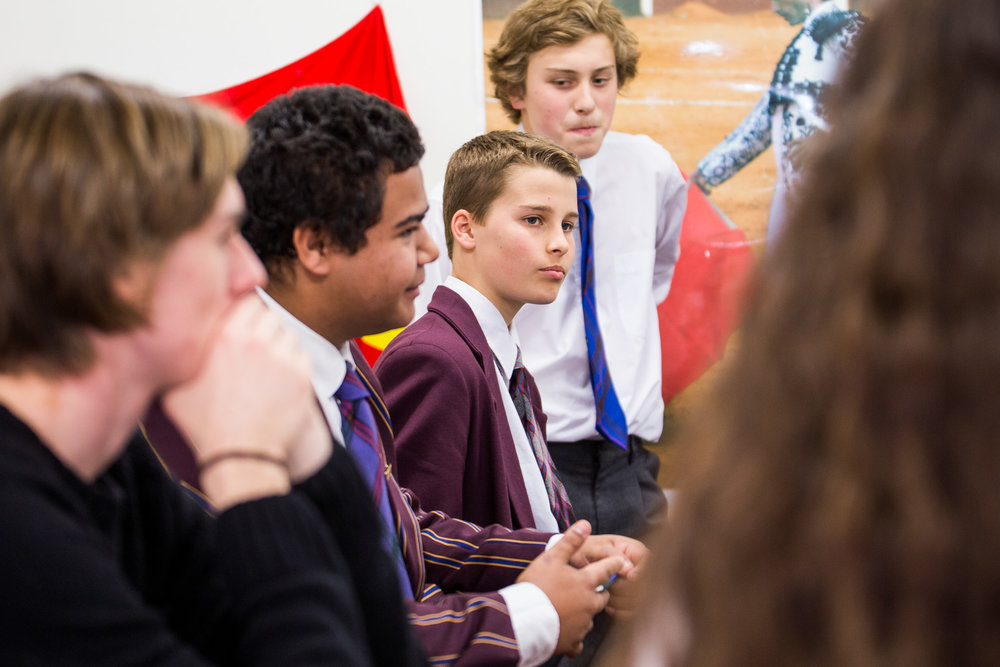 CROSS-CULTURAL UNDERSTANDING - Facilitating safe spaces where young people can build their knowledge and understanding of Australia's shared history and unpack the issues we face in reconciliation.