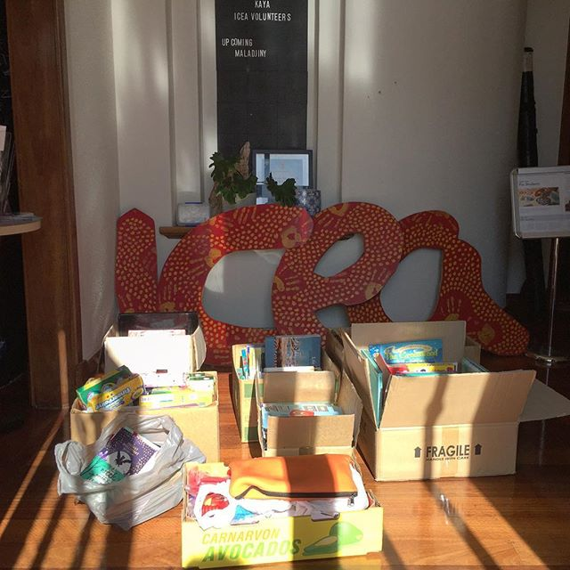 Huge thanks to everyone who has spread the word to collect books for One Arm Point Remote Community School library 📚 special thanks to Kyilla Primary School, Kindy Dance Time and Charlesworth Ballet Institute for the donations as well as so many others! We look forward to delivering them next week 😄📖