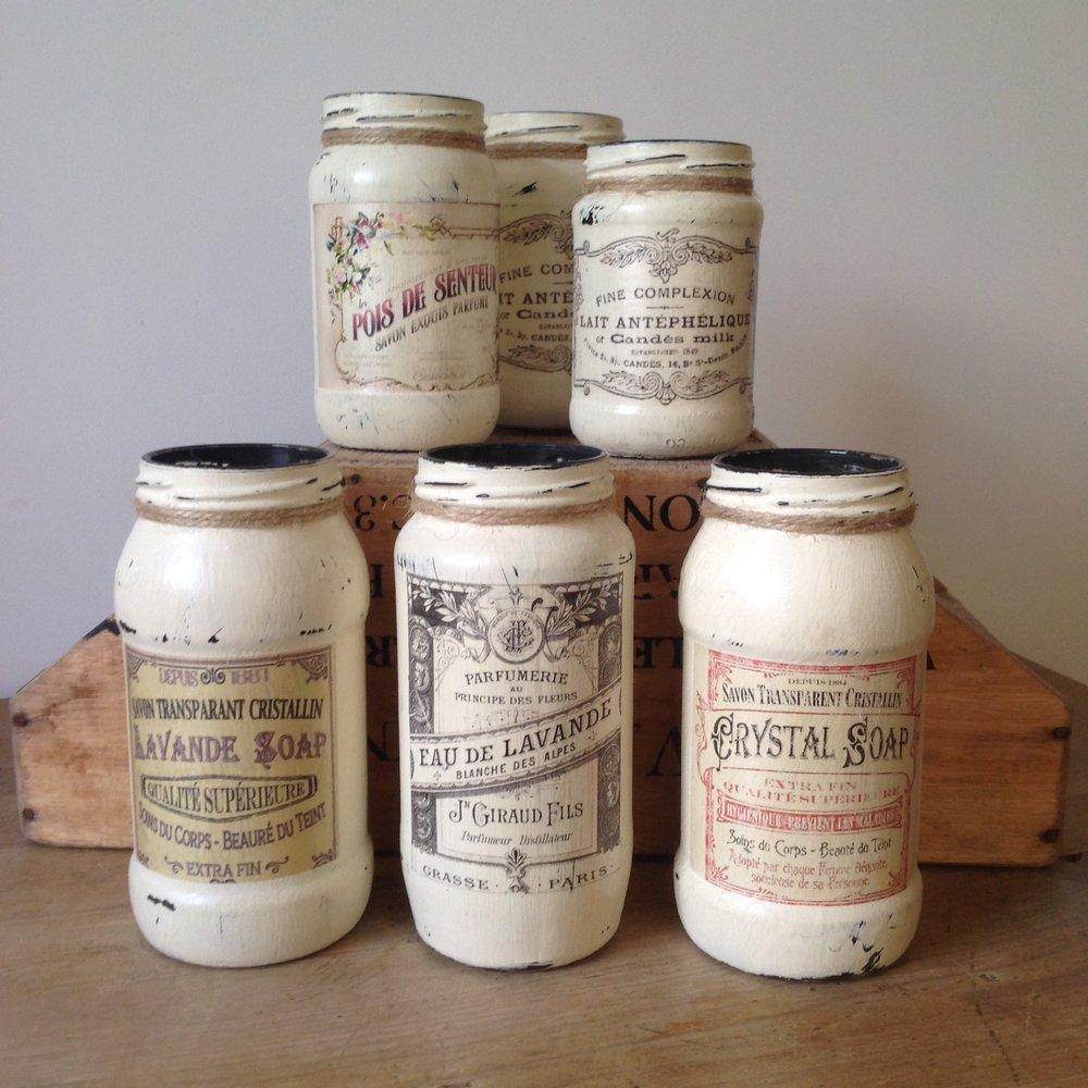 Decorative Mason Jars.