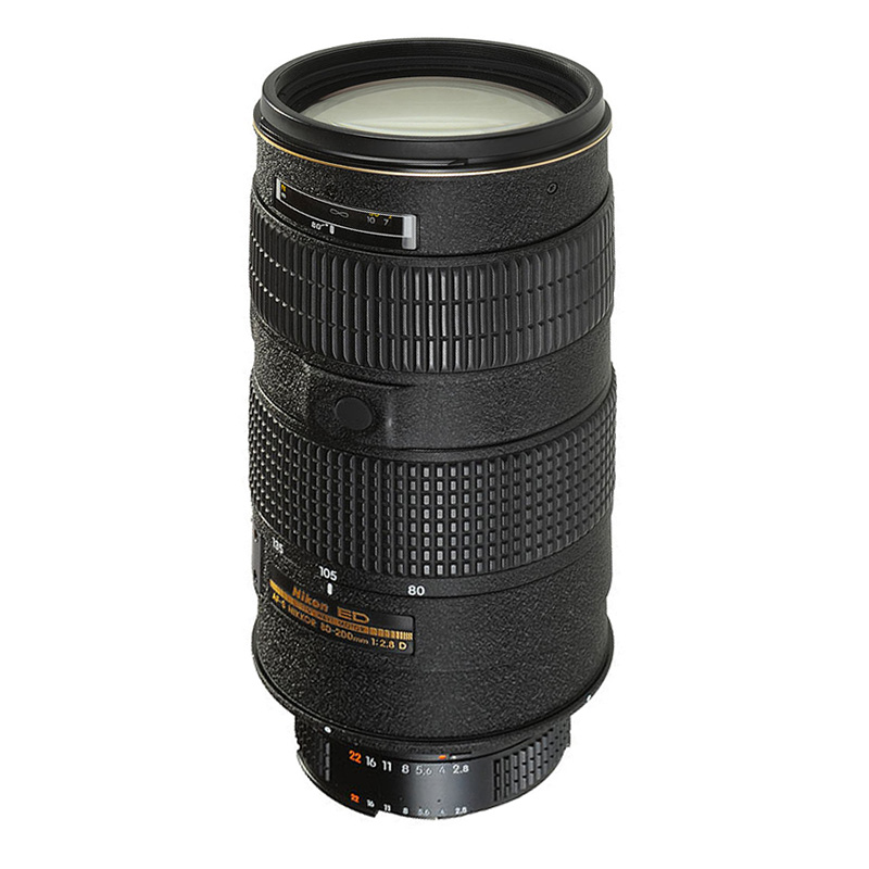NIKON Zoom 80-200 AF ED 2.8 D