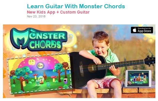 Little Steps Asia (November 23, 2016) Learn Guitar With Monster Chords