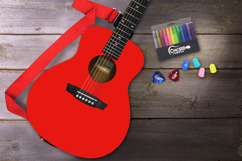 STRUMMER - The colorful guitar to get kids started in guitar learning