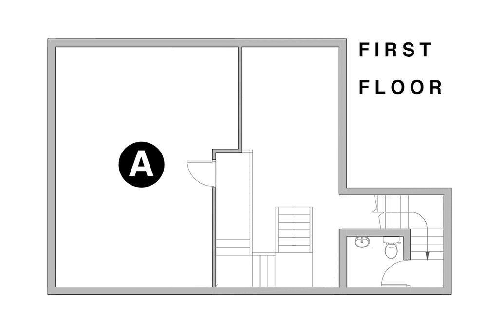 Street Space - First Floor floorplan
