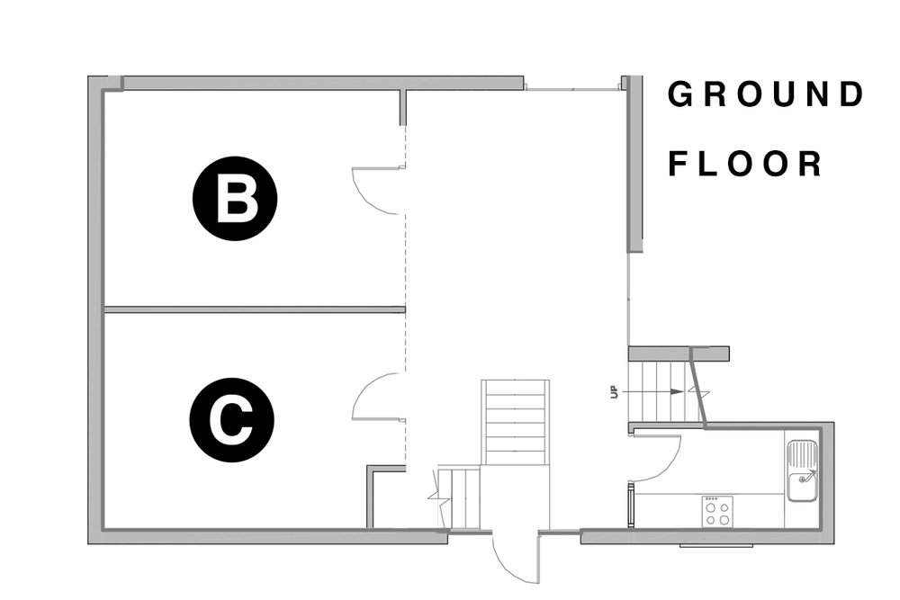 Street Space - Ground Floor floorplan