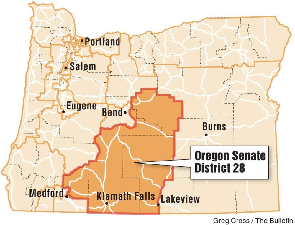 Oregon's 28th Senate District Credit Greg Cross Bend Bulletin.jpeg
