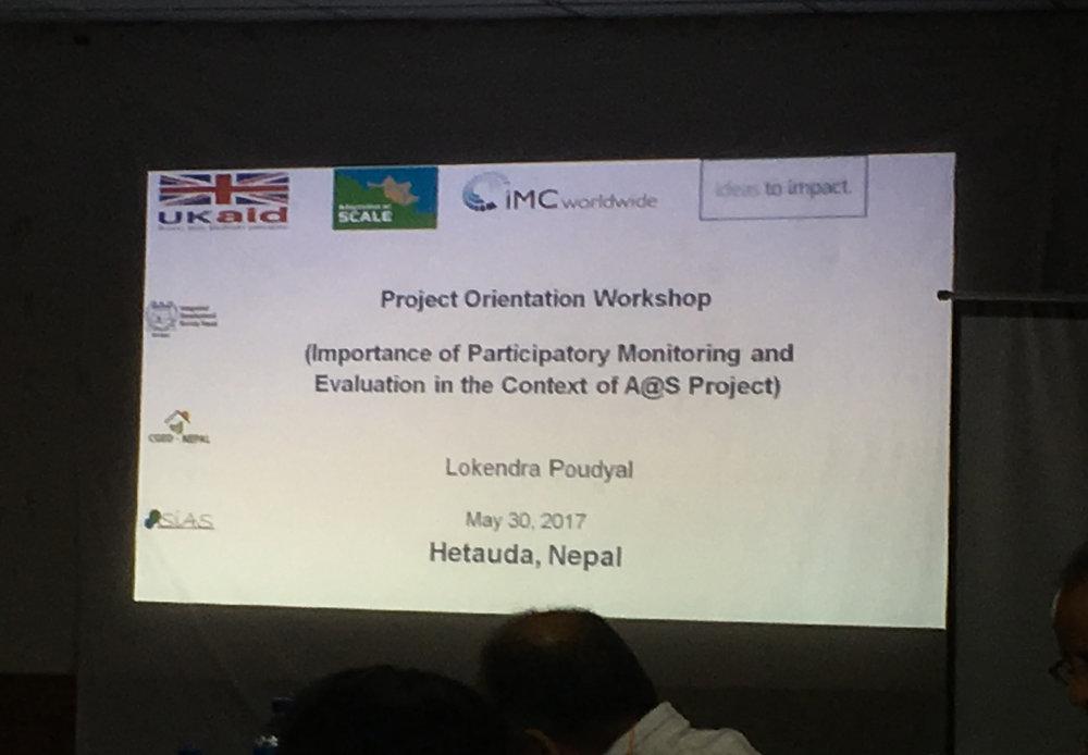 Hetauda Workshop 2017