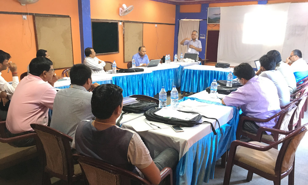 Project Orientation, M&E Training Workshop Presentation - Nepalgunj
